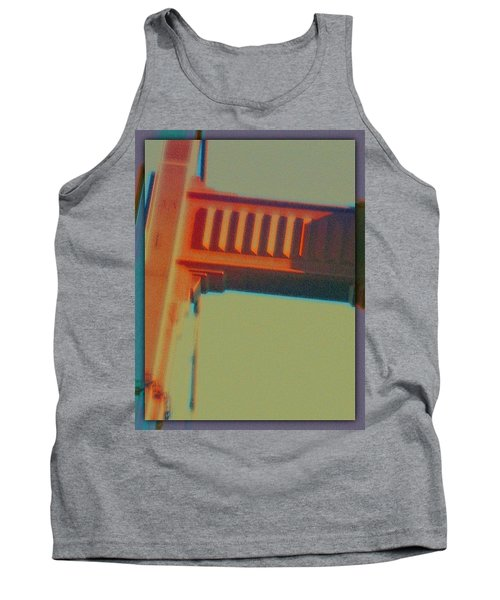 Tank Top featuring the digital art Coming In by Richard Laeton