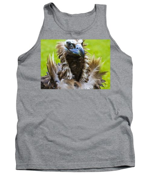 Monk Vulture 4 Tank Top by Heiko Koehrer-Wagner