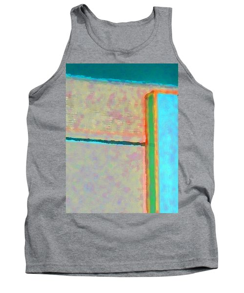 Tank Top featuring the digital art Up And Over by Richard Laeton