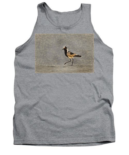 Black-winged Lapwing Art Tank Top by Kay Brewer