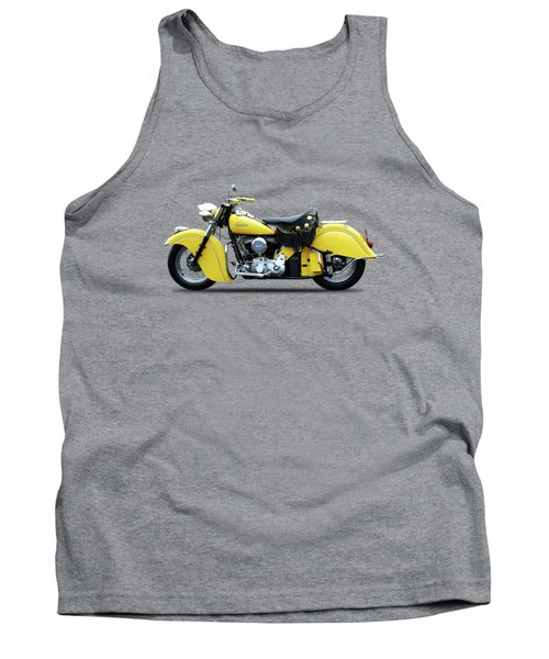 Indian Chief 1951 Tank Top by Mark Rogan