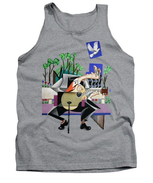 Music A Gift From The Holy Spirit Tank Top by Anthony Falbo