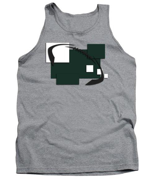 New York Jets Abstract Shirt Tank Top by Joe Hamilton