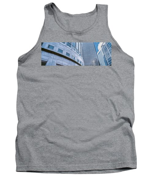 Skyscrapers In A City, Canary Wharf Tank Top by Panoramic Images