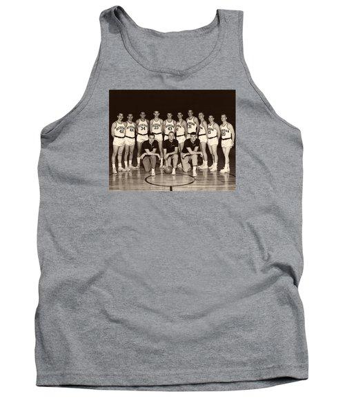 University Of Michigan Basketball Team 1960-61 Tank Top by Mountain Dreams
