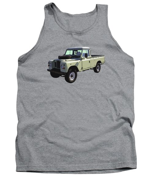 1971 Land Rover Pickup Truck Tank Top by Keith Webber Jr