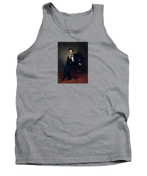 President Abraham Lincoln Tank Top by War Is Hell Store