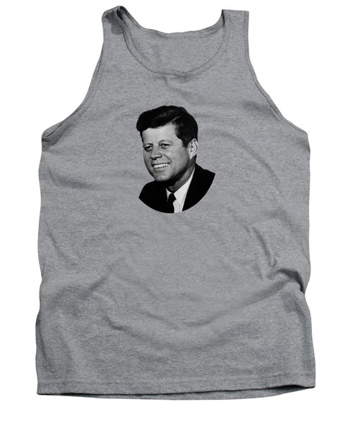 President Kennedy Tank Top by War Is Hell Store