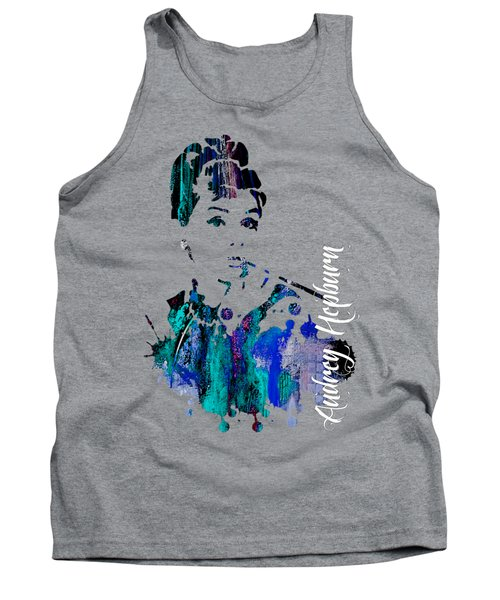 Audrey Hepburn Collection Tank Top by Marvin Blaine
