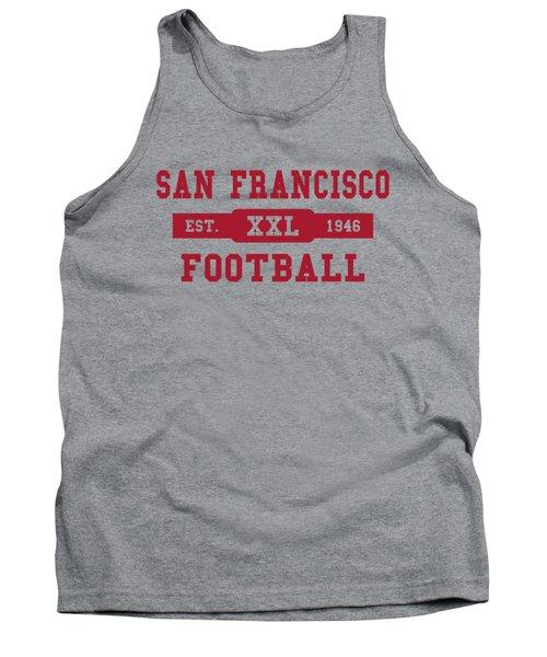 49ers Retro Shirt Tank Top by Joe Hamilton