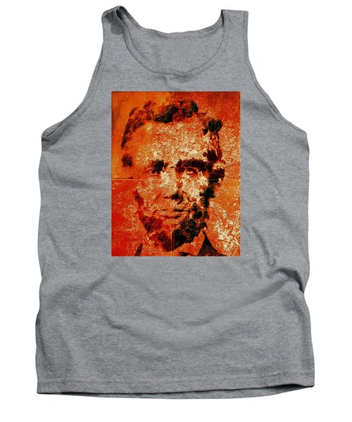 Abraham Lincoln 4d Tank Top by Brian Reaves