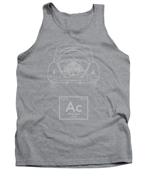 Aircooled Element - Beetle Tank Top by Ed Jackson