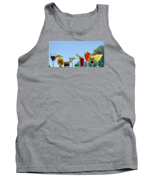 Alcoholic Beverages - Outdoor Bar Tank Top by Nikolyn McDonald