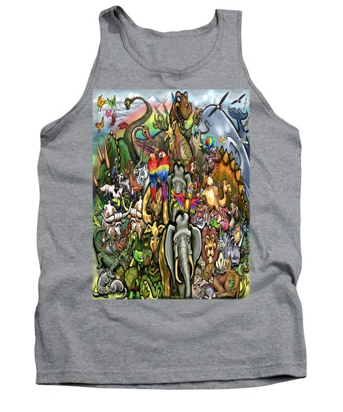 All Creatures Great Small Tank Top by Kevin Middleton