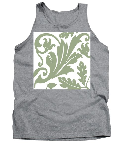 Arielle Olive Tank Top by Mindy Sommers