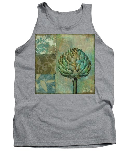 Artichoke Margaux Tank Top by Mindy Sommers