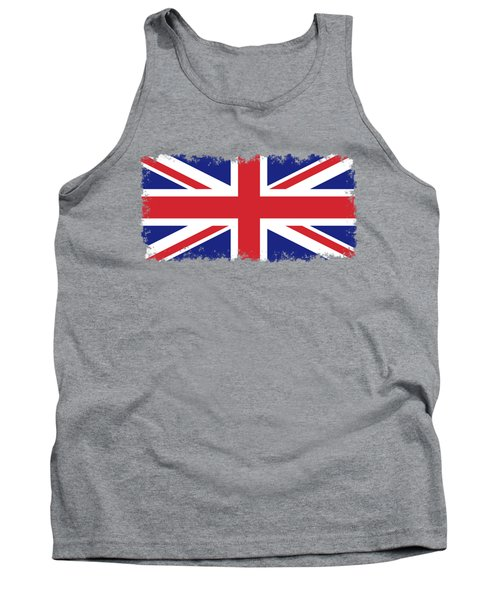 Union Jack Ensign Flag 1x2 Scale Tank Top by Bruce Stanfield