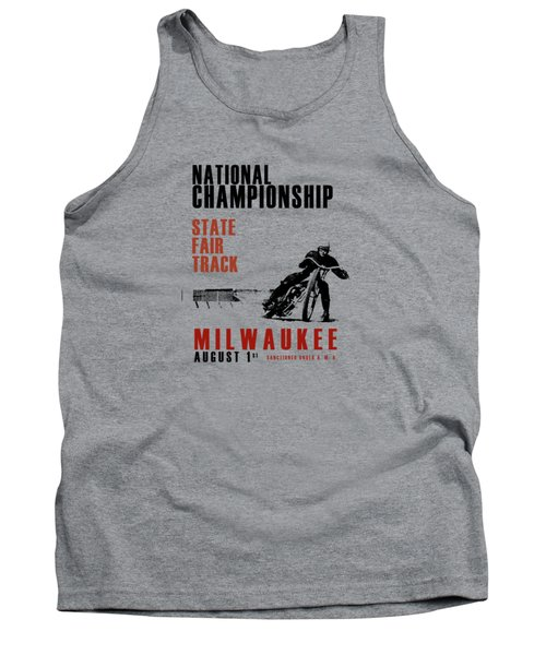 National Championship Milwaukee Tank Top by Mark Rogan