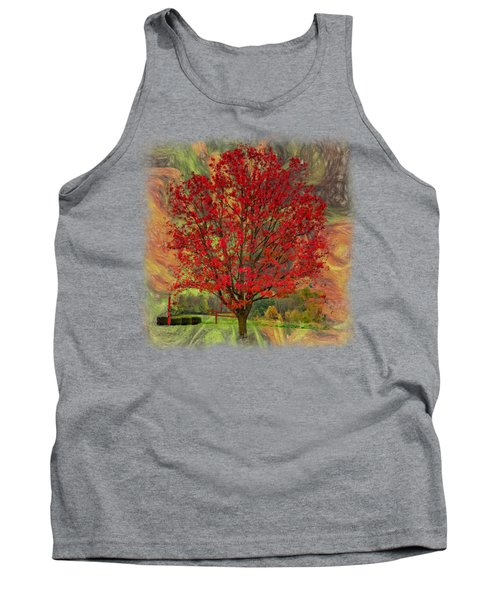 Autumn Scenic 2 Tank Top by John M Bailey