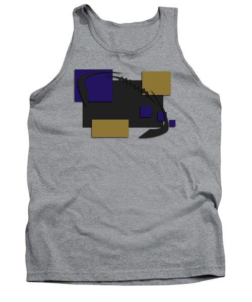 Baltimore Ravens Abstract Shirt Tank Top by Joe Hamilton