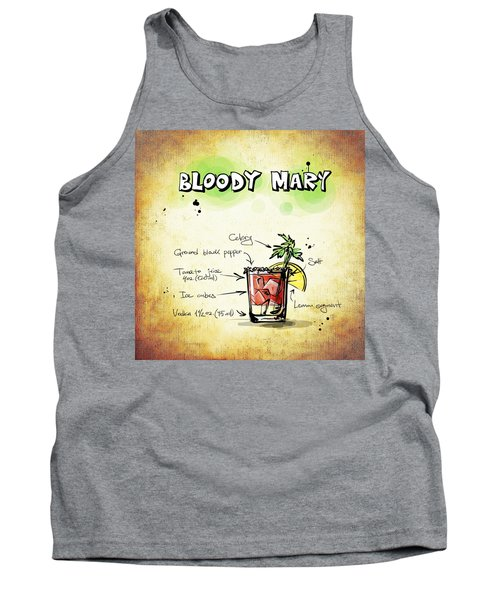 Bloody Mary Tank Top by Movie Poster Prints