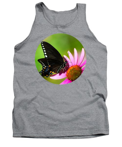 Butterfly In The Sun Tank Top by Christina Rollo