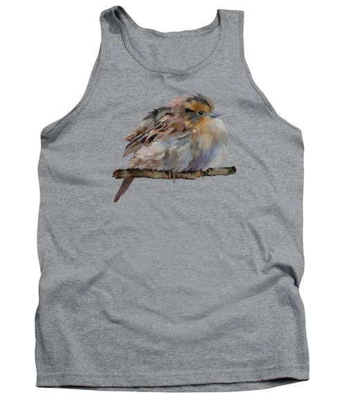 Colourful Sparrow Tank Top by Bamalam  Photography