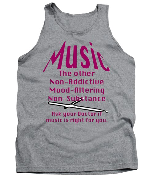 Drum Or Percussion Music Is Right For You 5493.02 Tank Top by M K  Miller