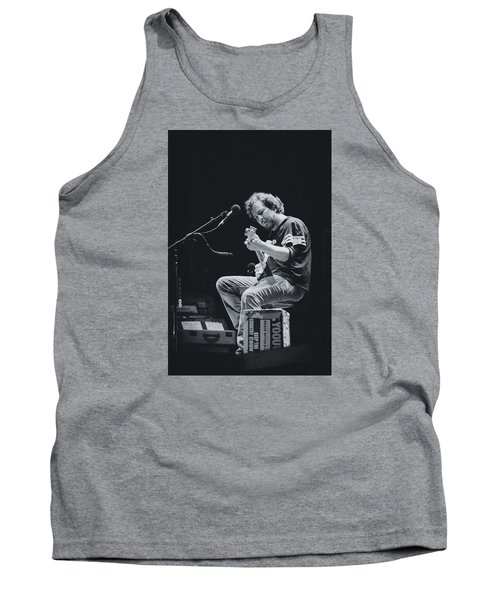 Eddie Vedder Playing Live Tank Top by Marco Oliveira
