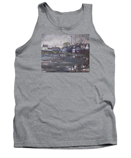 Gloomy And Rainy Day By Hyde Park Tank Top by Ylli Haruni
