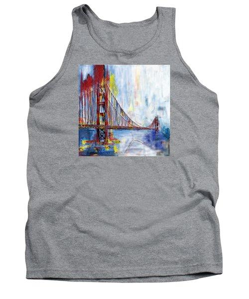 Golden Gate Bridge 218 1  Tank Top by Mawra Tahreem