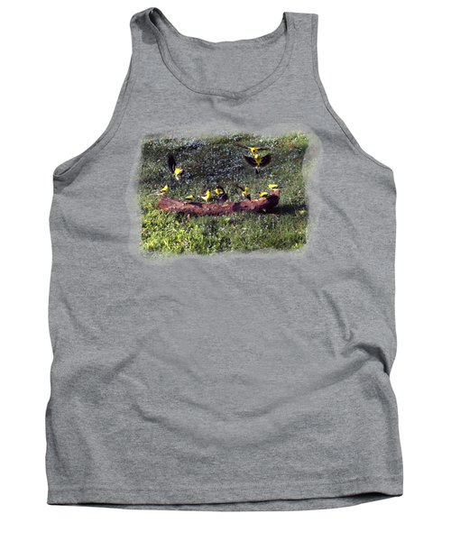Goldfinch Convention Tank Top by Nick Kloepping
