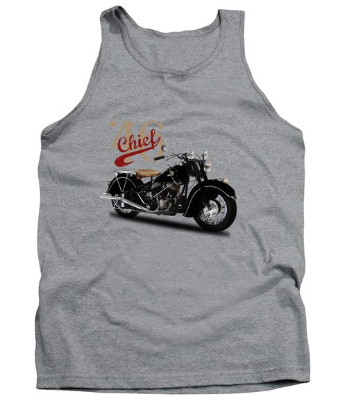 Indian Chief 1946 Tank Top by Mark Rogan