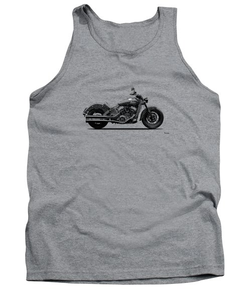 Indian Scout 2015 Tank Top by Mark Rogan