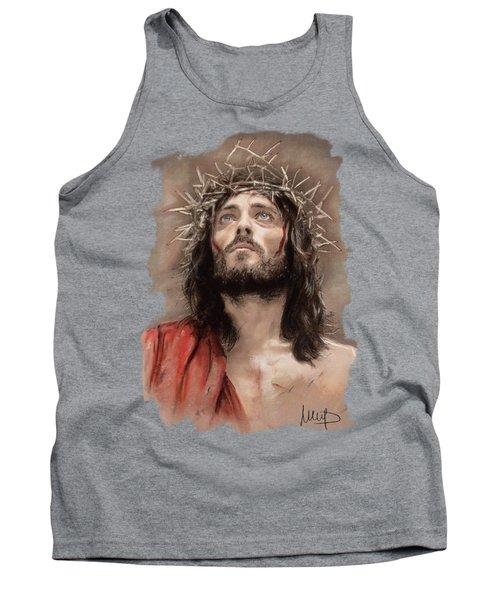 Jesus  Tank Top by Melanie D