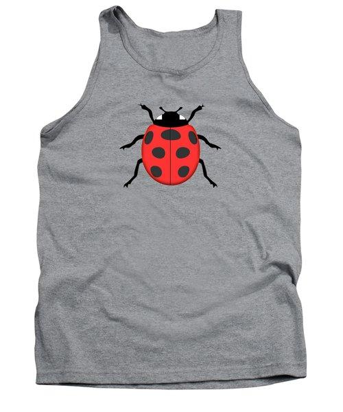 Ladybug Tank Top by Gaspar Avila