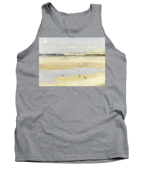 Lapwings By The Sea Tank Top by William James Laidlay