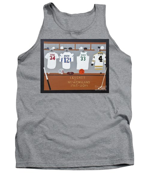 Legends Of New England Tank Top by Dennis ONeil