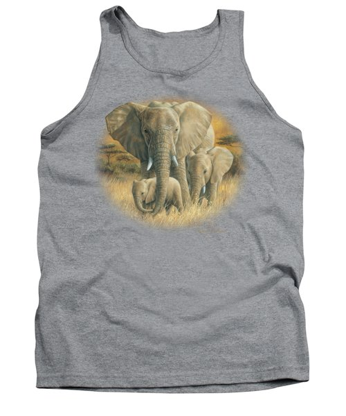 Loving Mother Tank Top by Lucie Bilodeau