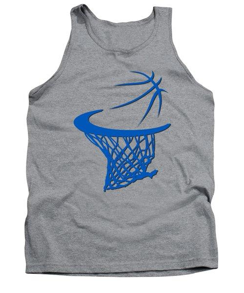 Magic Basketball Hoop Tank Top by Joe Hamilton