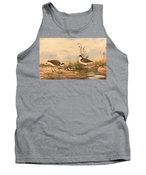 Masked Lapwing Tank Top by Mountain Dreams