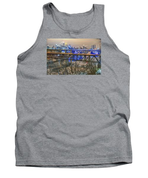 Minneapolis Bridges Tank Top by Craig Voth