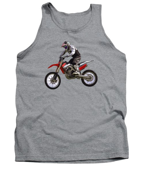 Motocross Tank Top by Scott Carruthers