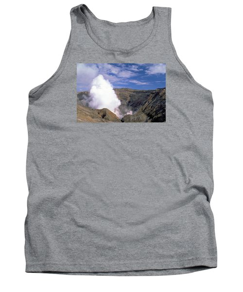 Tank Top featuring the photograph Mount Aso by Travel Pics