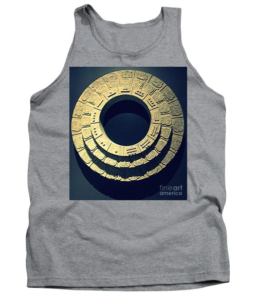 National Museum Of The American Indian 10 Tank Top by Randall Weidner