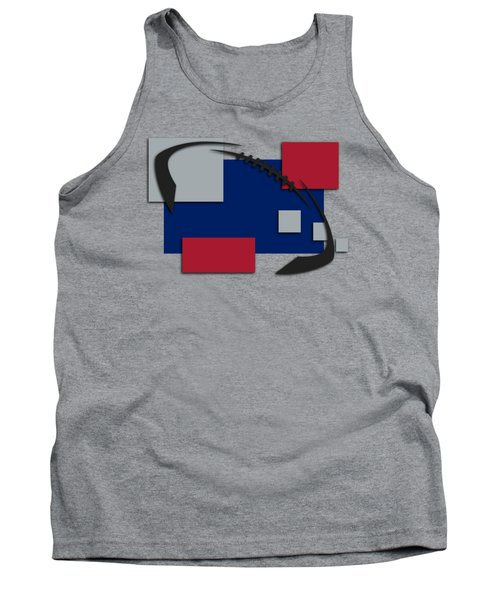 New York Giants Abstract Shirt Tank Top by Joe Hamilton