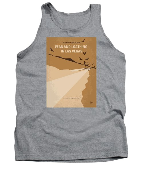 No293 My Fear And Loathing Las Vegas Minimal Movie Poster Tank Top by Chungkong Art