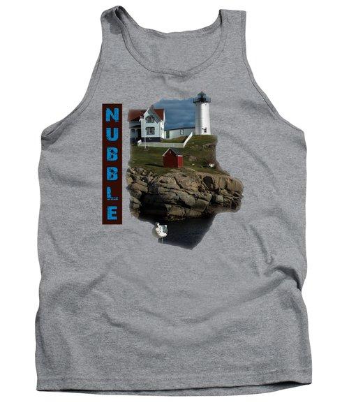 Nubble T-shirt Tank Top by Mim White
