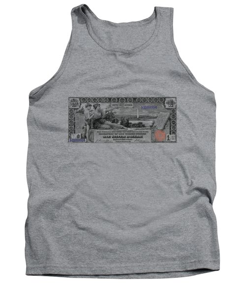 One Dollar Note - 1896 Educational Series  Tank Top by Serge Averbukh