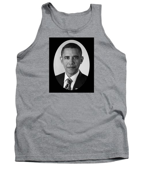 President Barack Obama Tank Top by War Is Hell Store